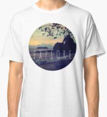 Explore Costa Rican Beach Ocean Tumblr Pastel Quote Print Classic T-Shirt