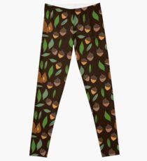 Cute woodland animal chipmunk pattern Leggings