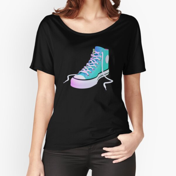 Converse Chuck Taylor Turqoise V2 Relaxed Fit T-Shirt
