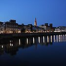 florence at night - italy by iannarinoimages