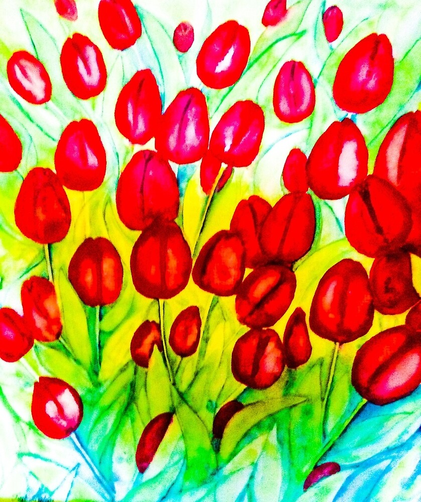 Just Tulips by Valgibbons