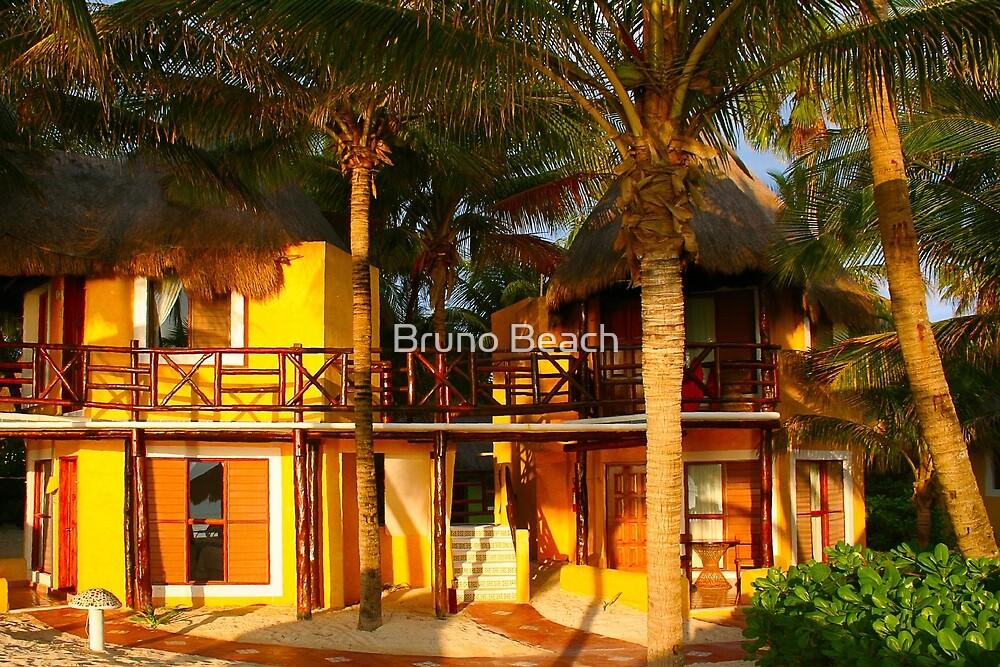Hotel Mahekal at Playa del Carmen, Yucatan Peninsula, MEXICO by Bruno Beach