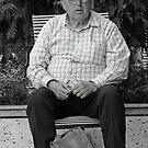 Pension Day Shopper by Neil Mouat