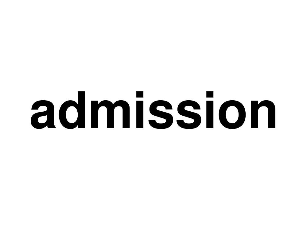 admission by ninov94