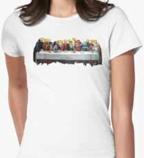Last Supper Womens Fitted T-Shirt