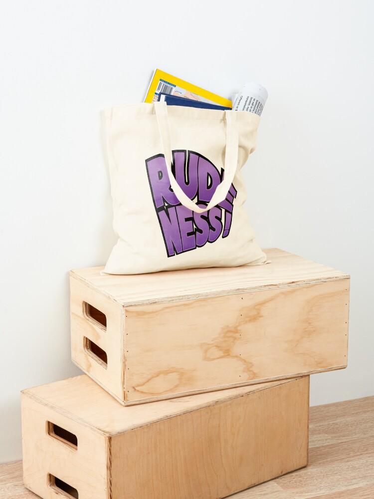 Alternate view of Rudeness Logo Tote Bag