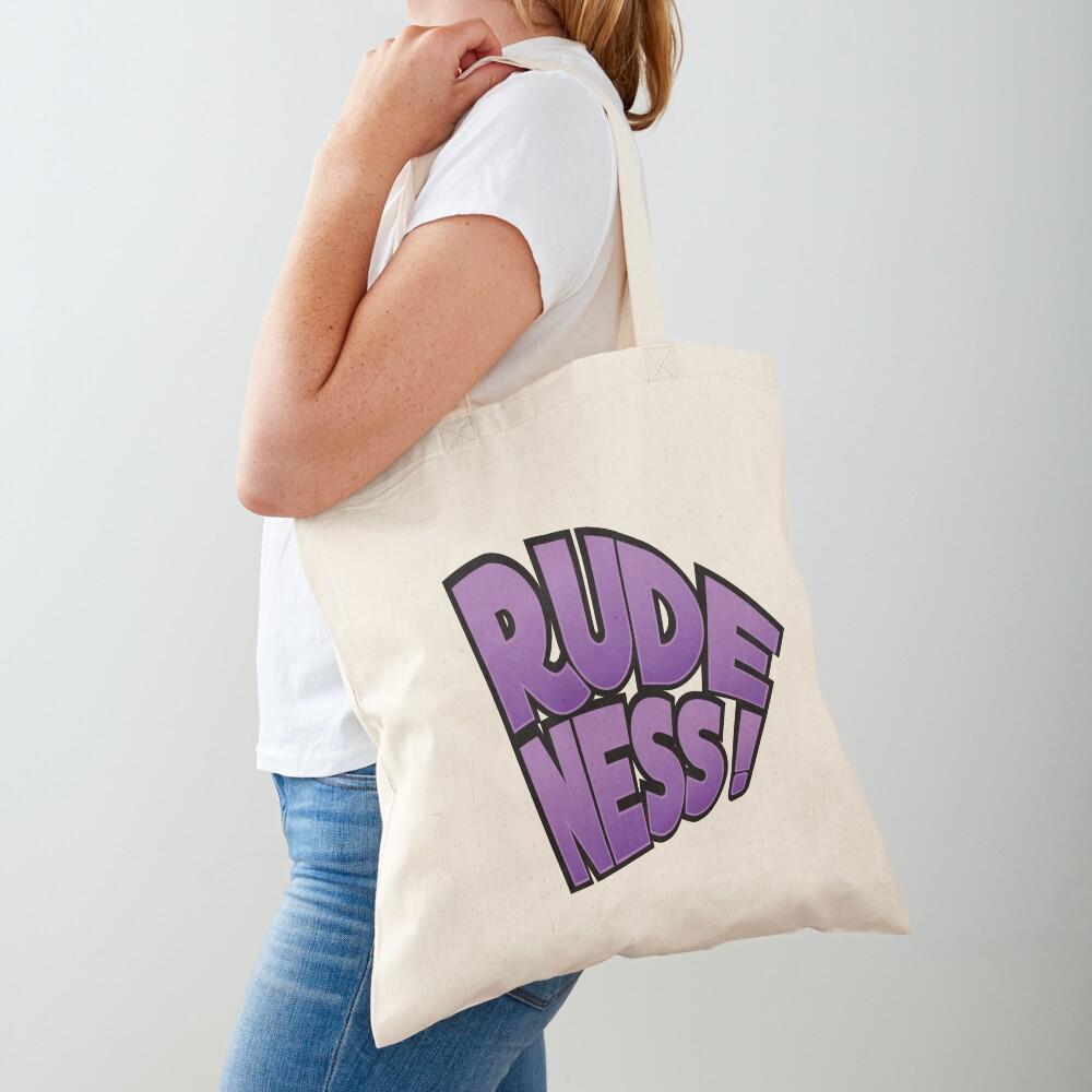 Rudeness Logo Tote Bag