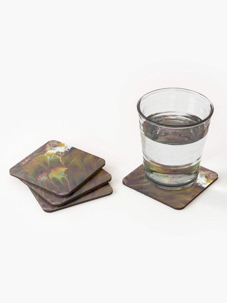 Alternate view of Pyroclastic Flow Coasters (Set of 4)
