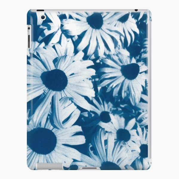 Coneflowers In Blue Cyanotype Print iPad Snap Case