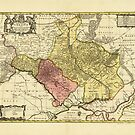 Map of Ukraine (1705) by allhistory