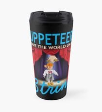 Puppet Master Puppetry Design Design Graphic Travel Mug