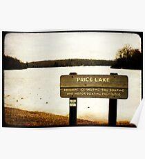 Price Lake Poster