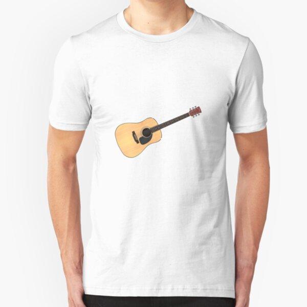 Acoustic Guitar Slim Fit T-Shirt