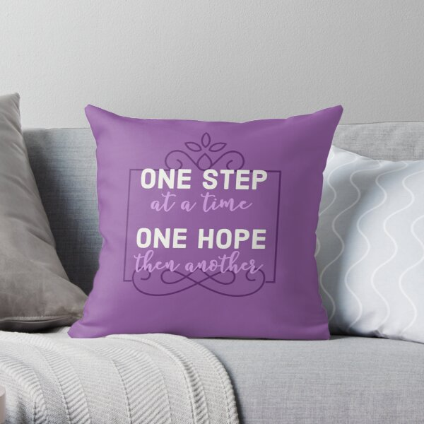 Journey to the Past  Throw Pillow