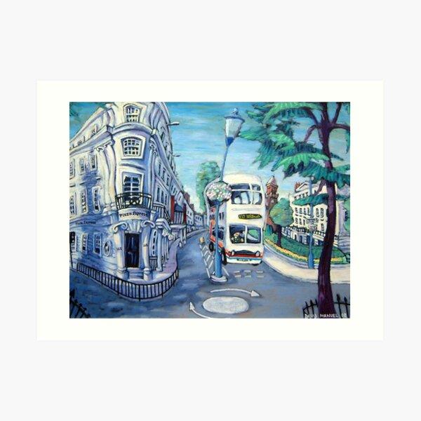 The Parade, Leamington Spa Art Print