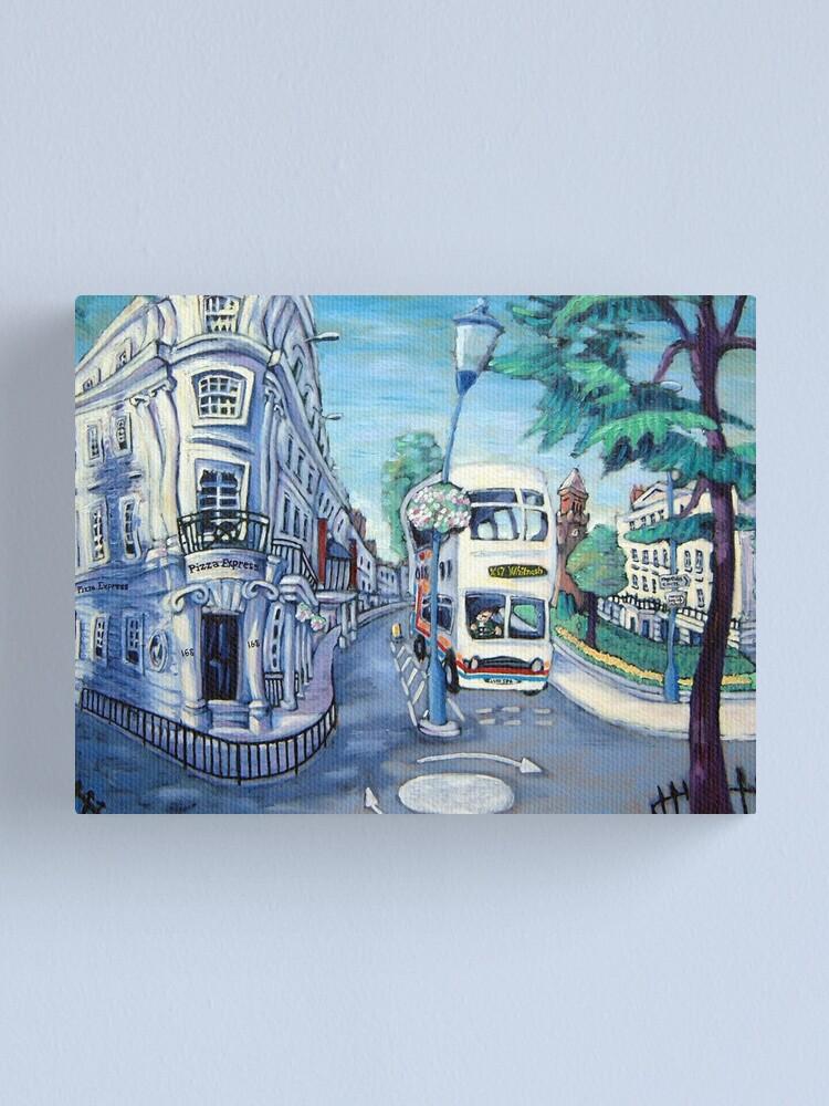 The Parade Leamington Spa Canvas Print