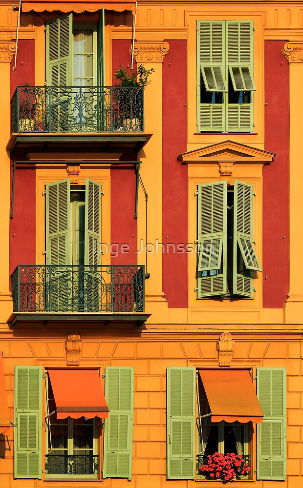 French Windows #2 by Inge Johnsson