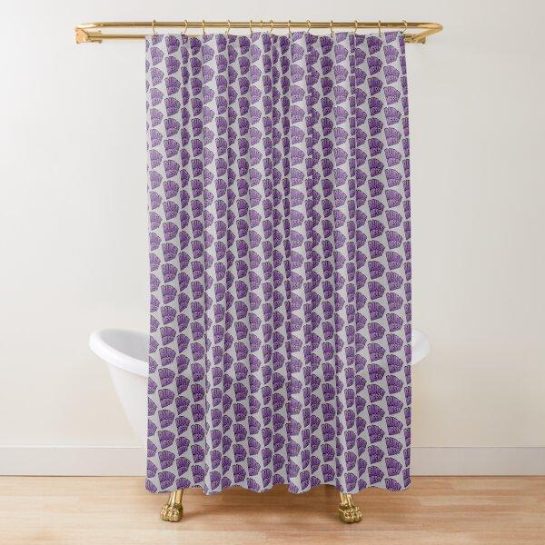 Rudeness Logo Shower Curtain