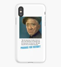Produce For Victory -- WW2  iPhone Case