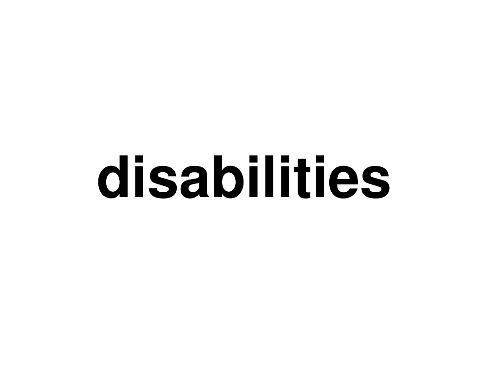 disabilities by ninov94