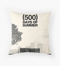 (500) Days of Summer Throw Pillow