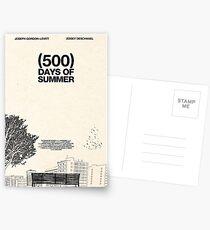 (500) Days of Summer Postkarten