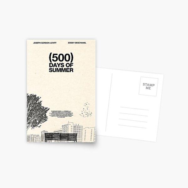 (500) Days of Summer Postcard