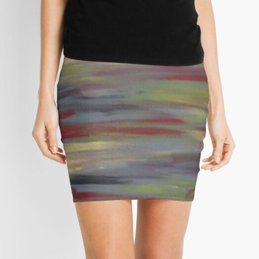 Crazy Abstract Mini Skirt