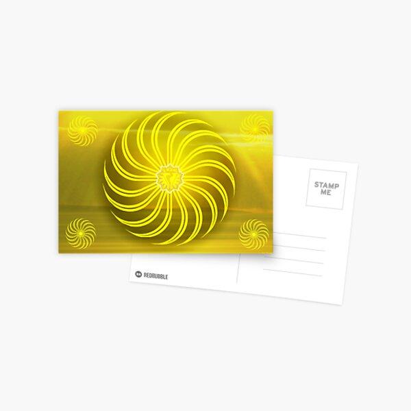 Solar Plexus ~ Yellow ~ Manipura ~ Male Postcard