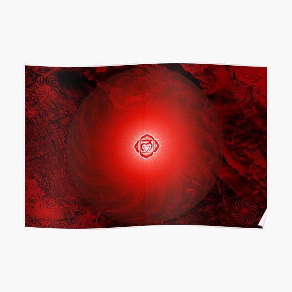 Base Chakra ~ Red ~ Mulahadra ~ Male Poster