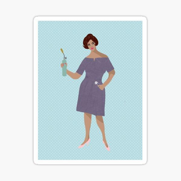 Murder Party Madge--Blowtorch Sticker