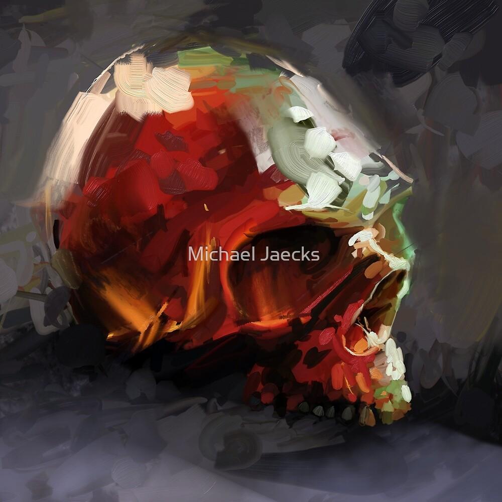 Annatto Skull by Michael Jaecks