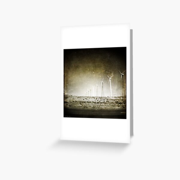 The Wind Was in Our Faces Greeting Card