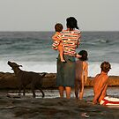Family at Beach by PeterDamo