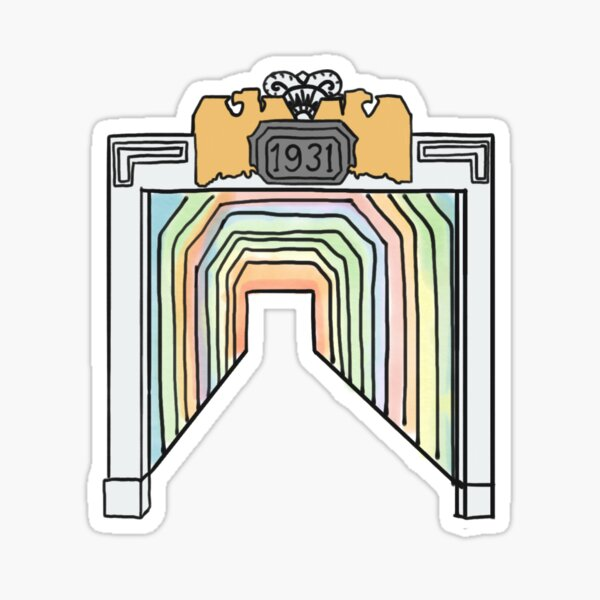 Birmingham Color Tunnel  Sticker