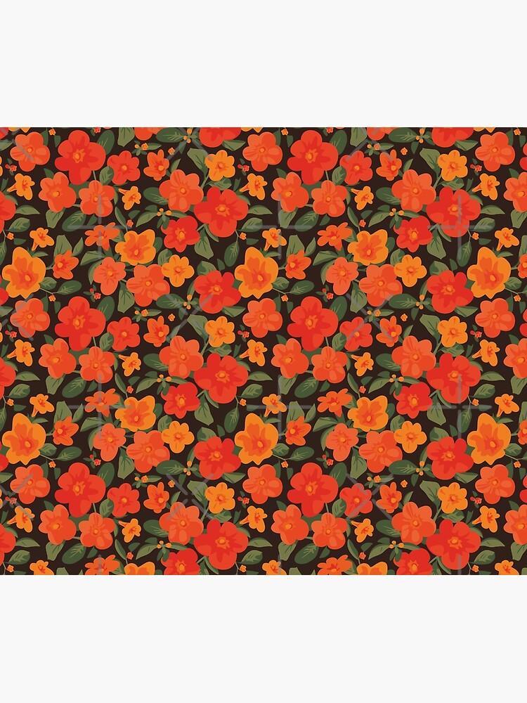 Marmalade Bush. Streptosolen jamesonii Pattern by lents