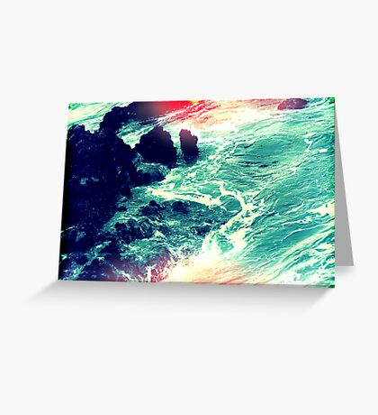 in your ocean i'm ankle deep Greeting Card