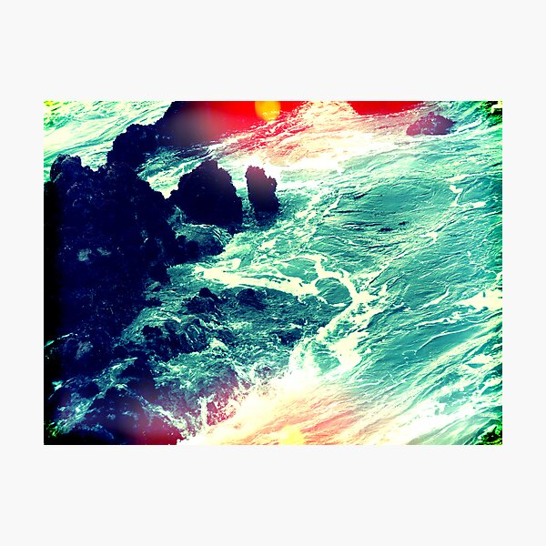 in your ocean i'm ankle deep Photographic Print