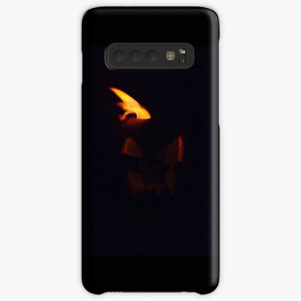 Flaming Pumkin Head Samsung Galaxy Snap Case