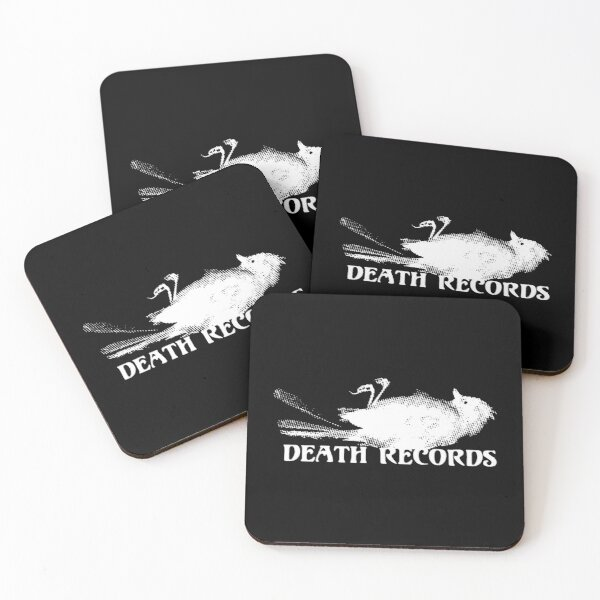 Death Records (Phantom of the Paradise 1974) Coasters (Set of 4)