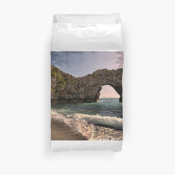 Evening urdle Door At Dorset Duvet Cover