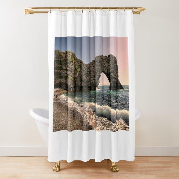 Evening urdle Door At Dorset Shower Curtain