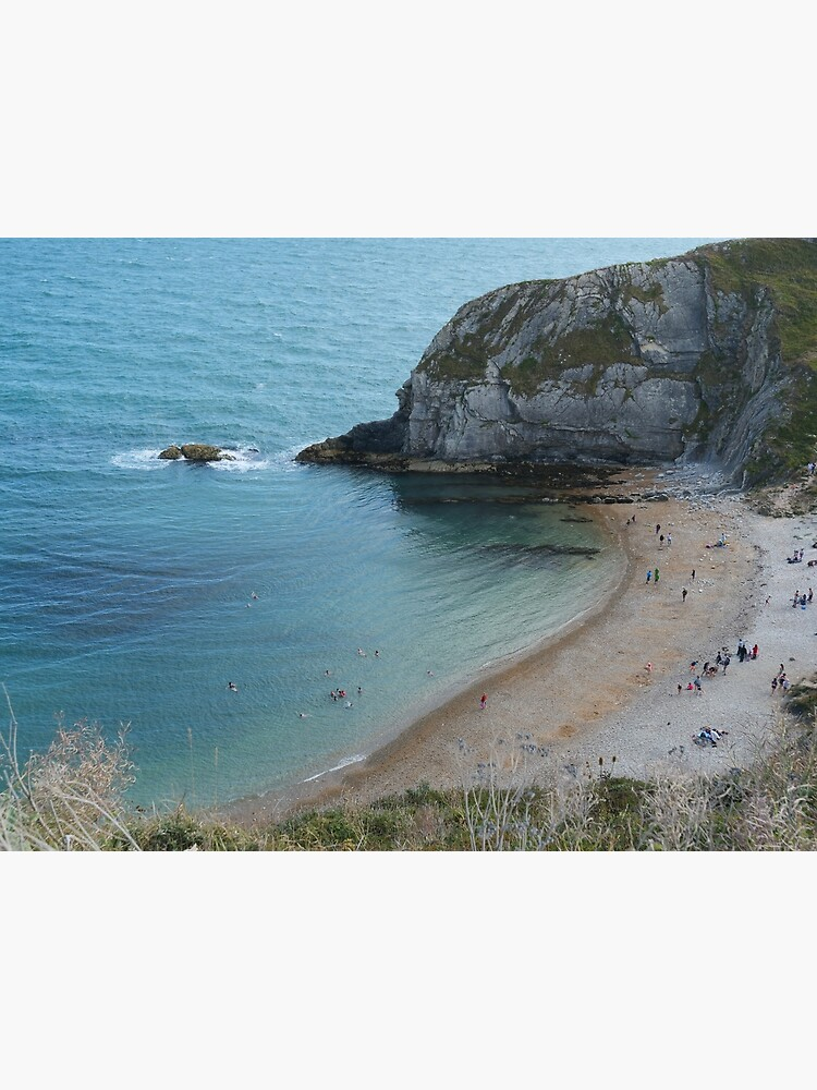 Swimming at Lulworth Cove Near Durdle Door by santoshputhran