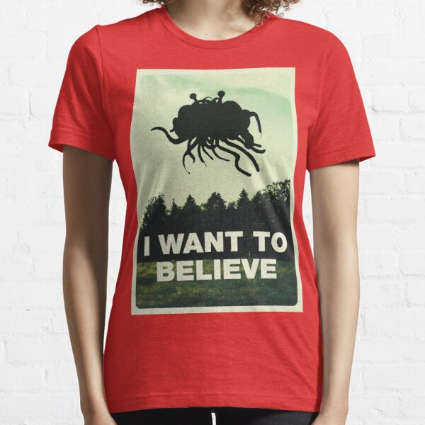 Flying Spaghetti Believing Essential T-Shirt