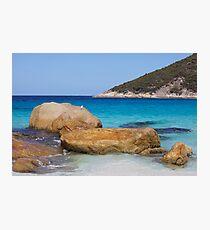 Little Beach Rocks Photographic Print