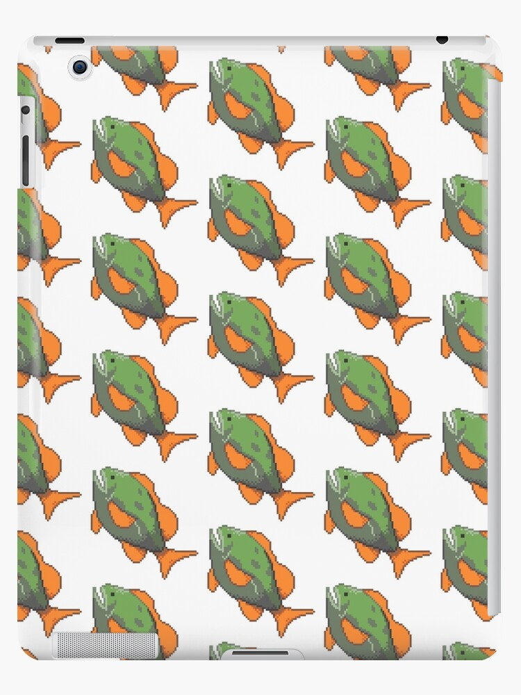 Hyrule Bass Botw Ipad Case Skin By Cinnamon Buns Redbubble