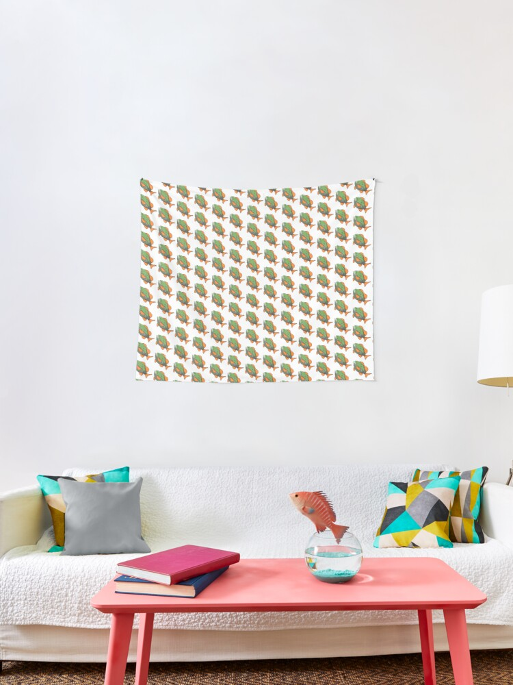 Hyrule Bass Botw Tapestry By Cinnamon Buns Redbubble