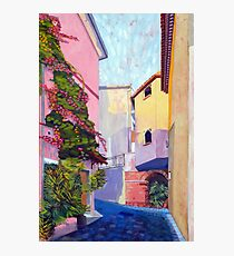 Laurino Italy Street Scene Photographic Print