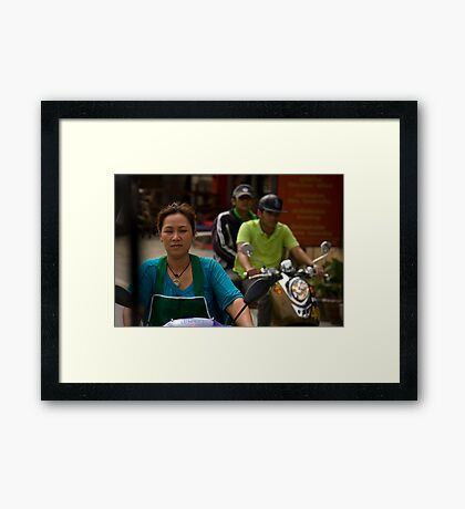 The Freedom To Ride, The Freedom To Live Framed Print