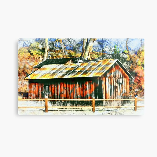 HOUSE IN THE WOODS  #2 Metal Print